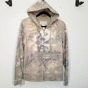 GreenTea zip sweatshirt hoodie Theatre de l'Opera